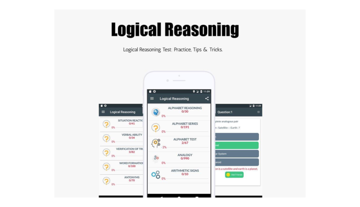 Logical Reasoning APK - Applications Emploi
